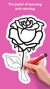 How To Draw Flowers v1.0.25 screenshots 5