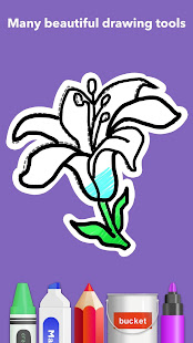 How To Draw Flowers v1.0.25 screenshots 6