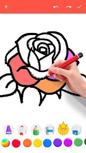 How To Draw Flowers v1.0.25 screenshots 7