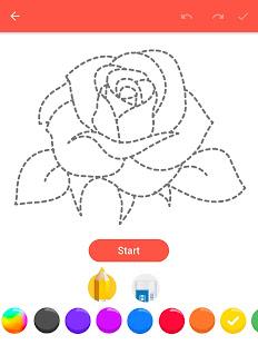 How To Draw Flowers v1.0.25 screenshots 9