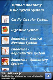 Human Anatomy v1.8 screenshots 1