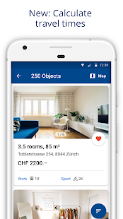 ImmoScout24 Switzerland Rent a flat buy a house v4.11.1 screenshots 2