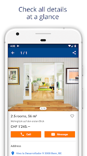 ImmoScout24 Switzerland Rent a flat buy a house v4.11.1 screenshots 3