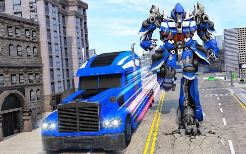 Indian Police Robot Transform Truck v1.14 screenshots 5