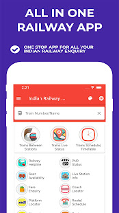 Indian Railway Timetable – Live train location v1.92 screenshots 1