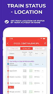 Indian Railway Timetable – Live train location v1.92 screenshots 2