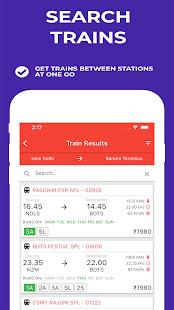 Indian Railway Timetable – Live train location v1.92 screenshots 6