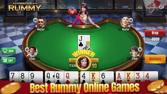 Indian Rummy Comfun-13 Cards Rummy Game Online v6.9.20210707 screenshots 1