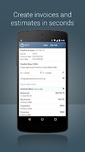 Invoice Maker estimate invoice and receipt app v4.4.09 screenshots 4