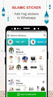 Islamic Stickers – Hajj 2020 Islamic Stickers v1.0 screenshots 3