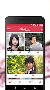 Japan Social Dating Chat with Japanese or Asians v7.0.2 screenshots 1