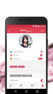 Japan Social Dating Chat with Japanese or Asians v7.0.2 screenshots 3