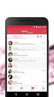 Japan Social Dating Chat with Japanese or Asians v7.0.2 screenshots 5