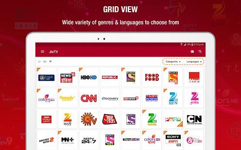 JioTV News Movies Entertainment LIVE TV v6.0.9 screenshots 10