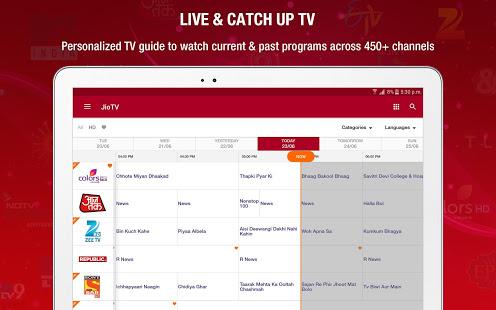 JioTV News Movies Entertainment LIVE TV v6.0.9 screenshots 9