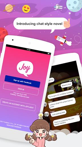 Joylada – Read All Kind of Chat Stories v screenshots 1