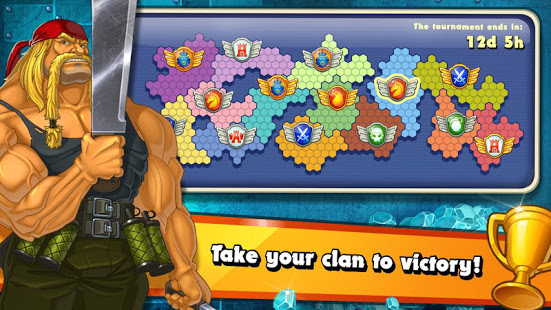 Jungle Heat War of Clans v2.1.6 screenshots 1