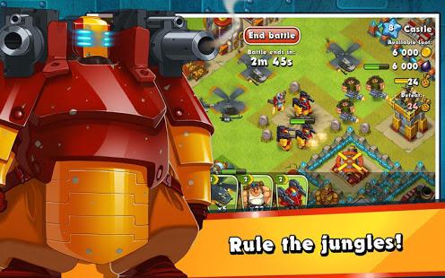 Jungle Heat War of Clans v2.1.6 screenshots 11