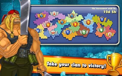 Jungle Heat War of Clans v2.1.6 screenshots 13