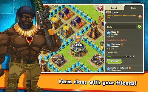 Jungle Heat War of Clans v2.1.6 screenshots 14