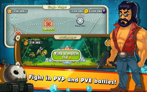 Jungle Heat War of Clans v2.1.6 screenshots 15