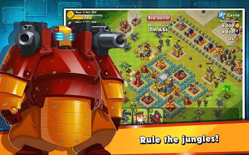 Jungle Heat War of Clans v2.1.6 screenshots 17