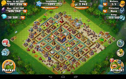 Jungle Heat War of Clans v2.1.6 screenshots 18