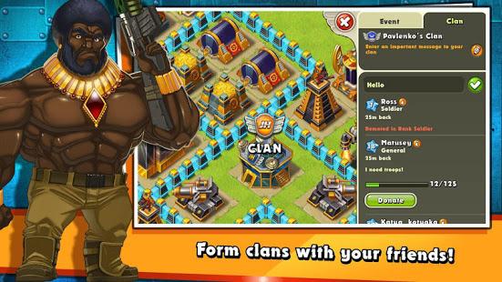 Jungle Heat War of Clans v2.1.6 screenshots 2