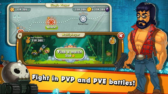 Jungle Heat War of Clans v2.1.6 screenshots 3