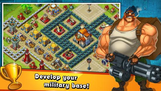 Jungle Heat War of Clans v2.1.6 screenshots 4