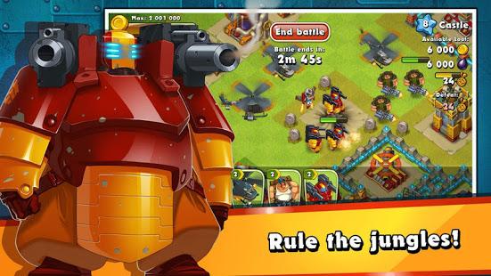 Jungle Heat War of Clans v2.1.6 screenshots 5