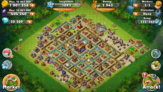 Jungle Heat War of Clans v2.1.6 screenshots 6