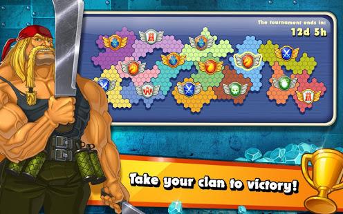 Jungle Heat War of Clans v2.1.6 screenshots 7