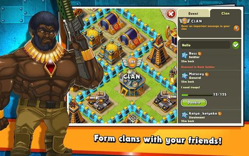 Jungle Heat War of Clans v2.1.6 screenshots 8
