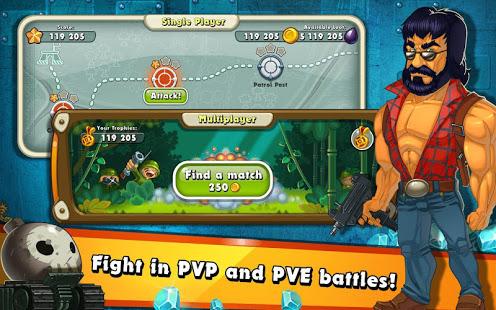 Jungle Heat War of Clans v2.1.6 screenshots 9