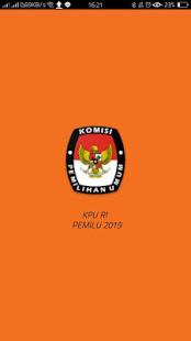 KPU RI PEMILU 2019 v2.0.1 screenshots 1