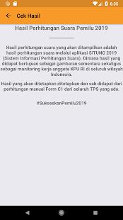 KPU RI PEMILU 2019 v2.0.1 screenshots 5