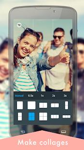 KVAD Camera best selfie app cute selfie Grids v1.10.4 screenshots 3