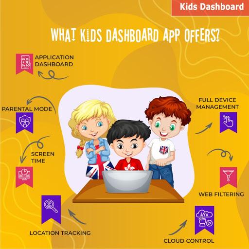 Kids Dashboard Parental Control Kids Mode App v71.6 screenshots 1