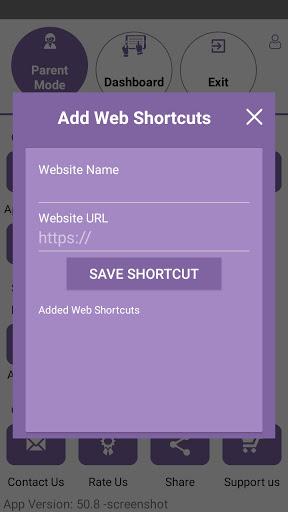 Kids Dashboard Parental Control Kids Mode App v71.6 screenshots 7