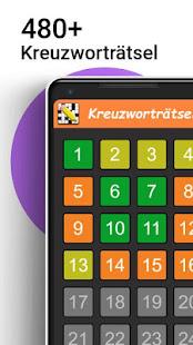 Kreuzwortrtsel Deutsch kostenlos v1.6.0 screenshots 1