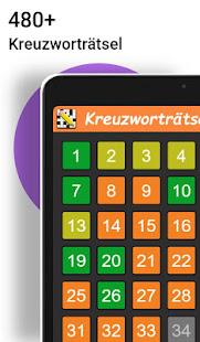 Kreuzwortrtsel Deutsch kostenlos v1.6.0 screenshots 4