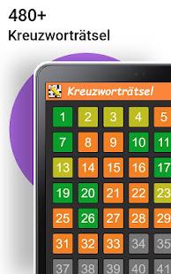 Kreuzwortrtsel Deutsch kostenlos v1.6.0 screenshots 7