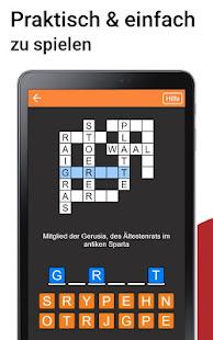 Kreuzwortrtsel Deutsch kostenlos v1.6.0 screenshots 8