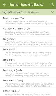 Learn to Speak English v2.4.8 screenshots 2