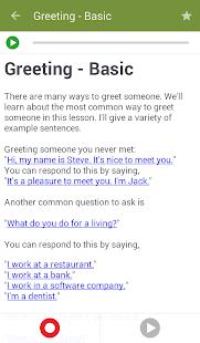 Learn to Speak English v2.4.8 screenshots 3