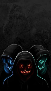 Led Purge Mask Wallpaper HD v2.0 screenshots 2
