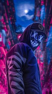 Led Purge Mask Wallpaper HD v2.0 screenshots 5