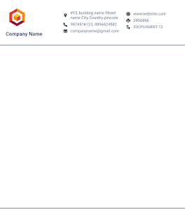 Letterhead Maker Business letter pad template Logo v2.0 screenshots 3