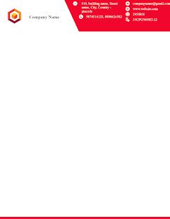 Letterhead Maker Business letter pad template Logo v2.0 screenshots 6